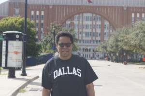 Dallas Plummer at American Airlines Arena