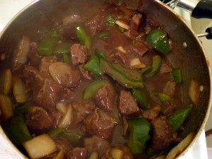 Pepper Steak with Onion Photo